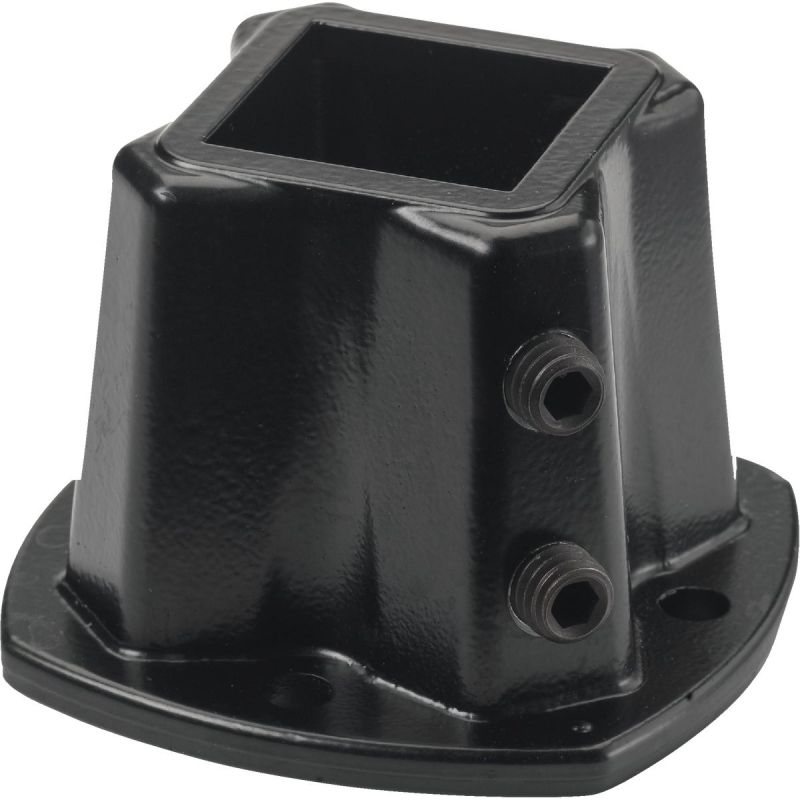 Gilpin Windsor Plus Floor Post Flange Black, Windsor