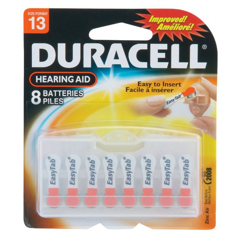 Duracell EasyTab Hearing Aid Battery Orange