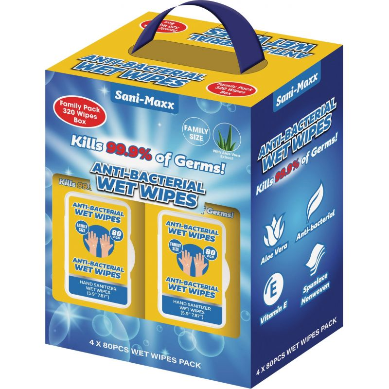 Sani-Maxx Disinfectant Wipe 5.9 In. X 7.87 In.
