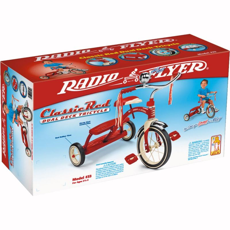 Radio Flyer Classic Red Tricycle 12 In., Red