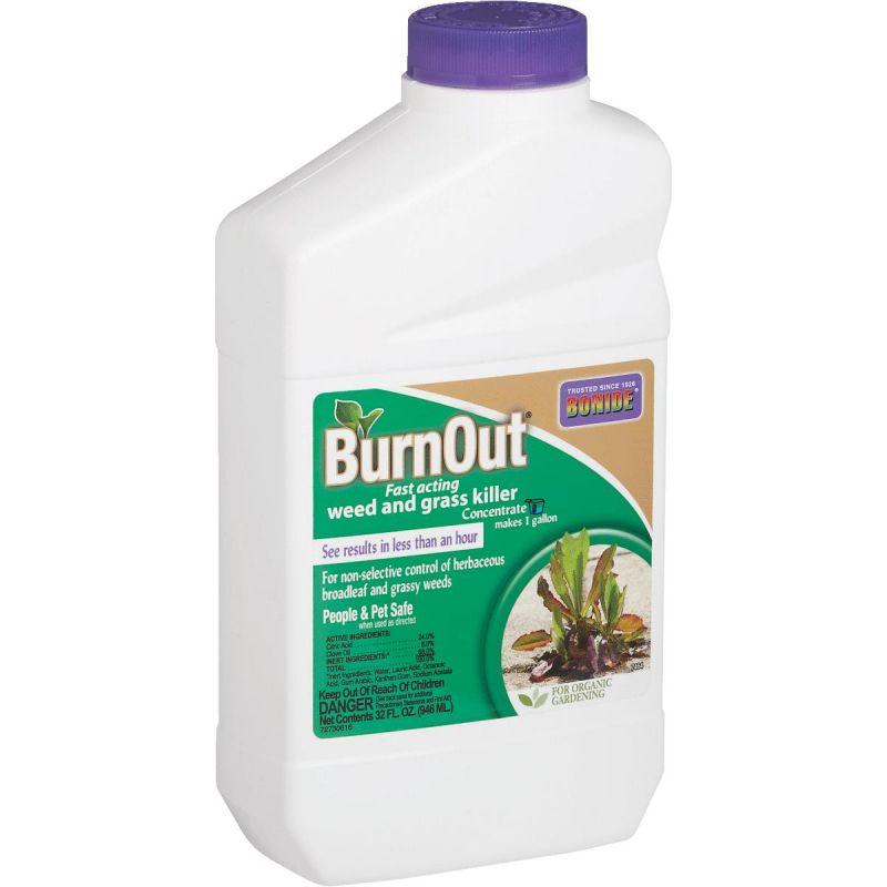 Buy Bonide BurnOut Organic Weed & Grass Killer 1 Qt , Pourable