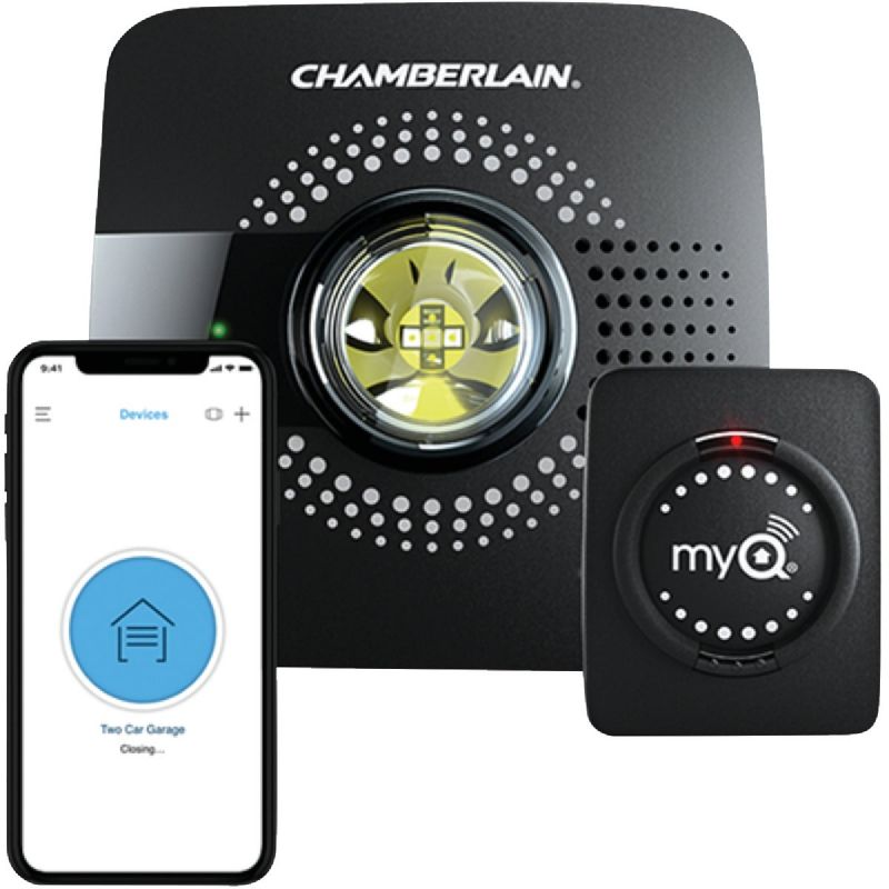 Chamberlain MyQ Smart Garage Door Remote Black