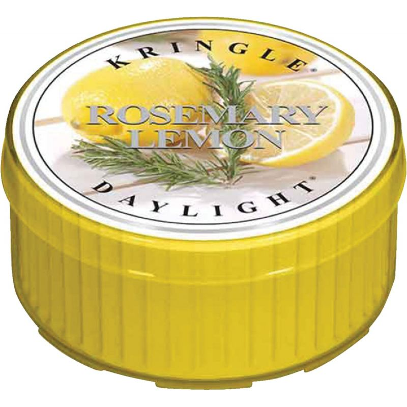 Kringle Candle Country Candle Daylight Candle 1.25 Oz., Yellow