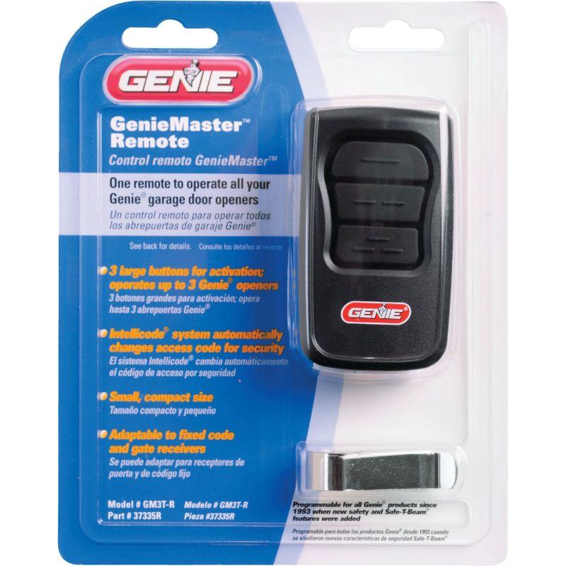 GenieMaster Garage Door Remote Black