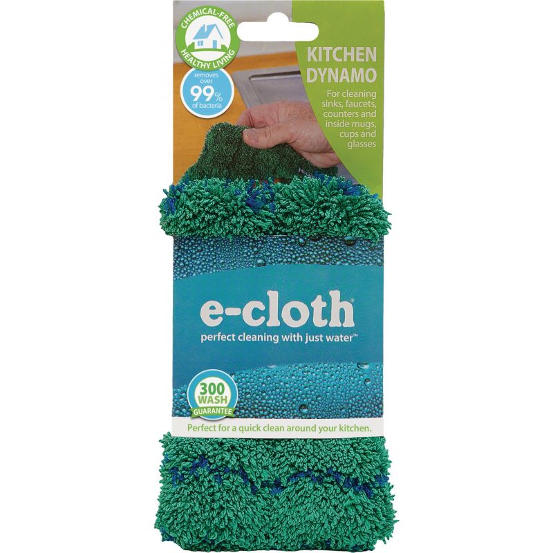 E-Cloth Kitchen Dynamo Cleaning Cloth Green
