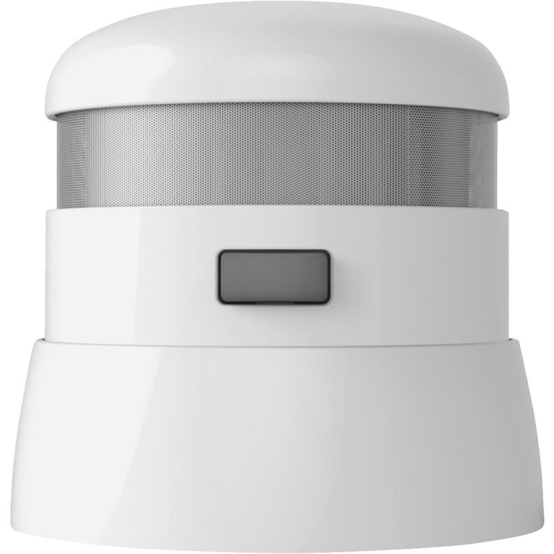First Alert Atom 10-Year Battery Photoelectric Smoke Alarm White