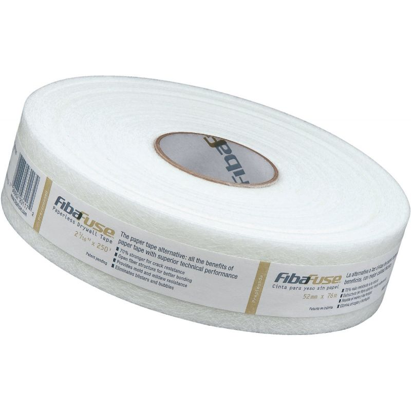 FibaFuse Paperless Drywall Tape White