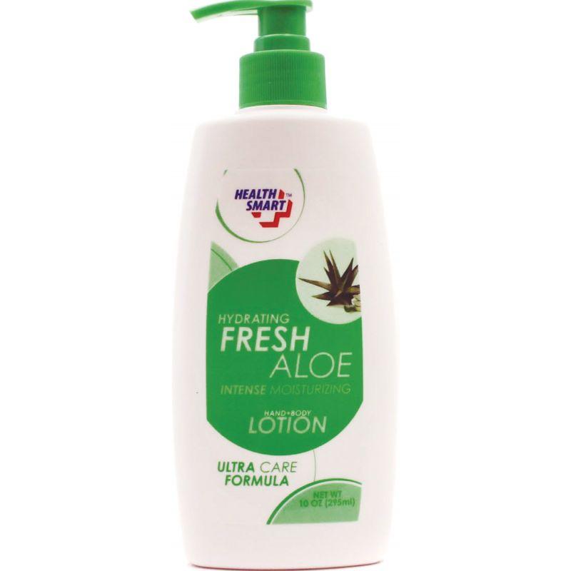 Health Smart Fresh Aloe Lotion 10 Oz. (Pack of 12)
