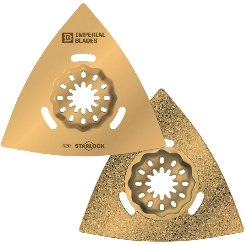 Imperial Blades Starlock Triangle Carbide Grit Oscillating Blade