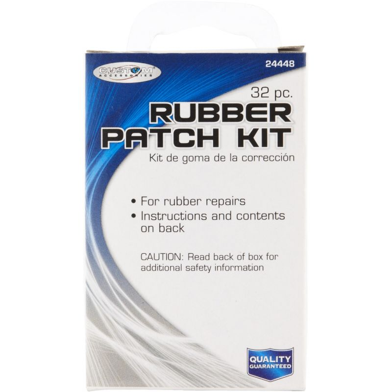 Master Tire Repair Deluxe Rubber Patch Kit