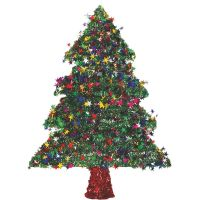 F C Young Tinsel Specialty Tree (Pack of 6)