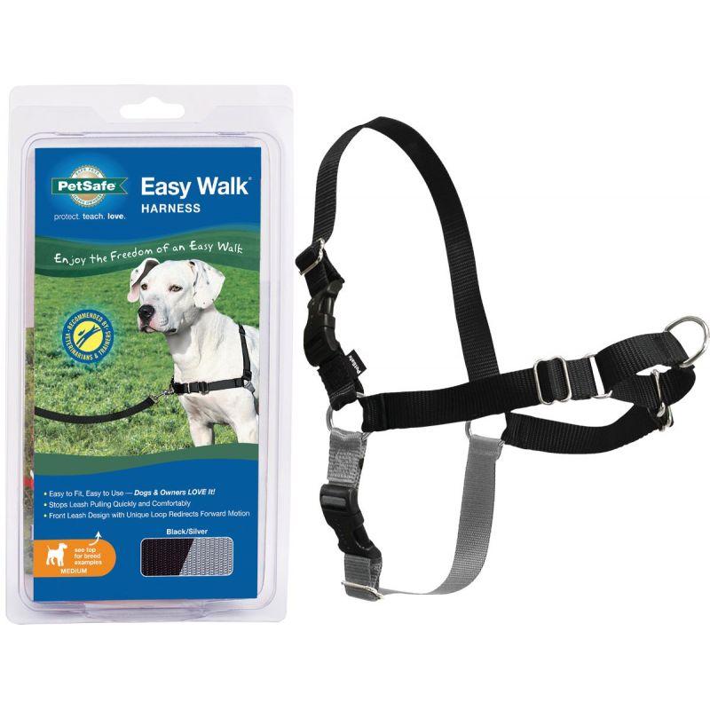 Petsafe Easy Walk Dog Harness 23 In. To 33 In., Black