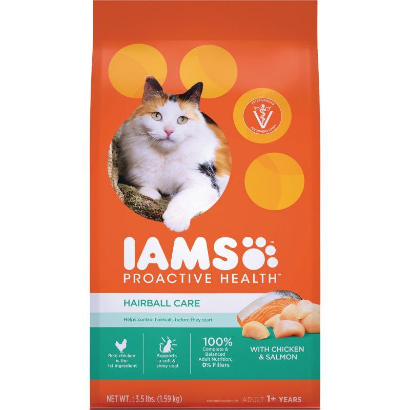 Iams Proactive Health Hairball Care Dry Cat Food 3.5 Lb.