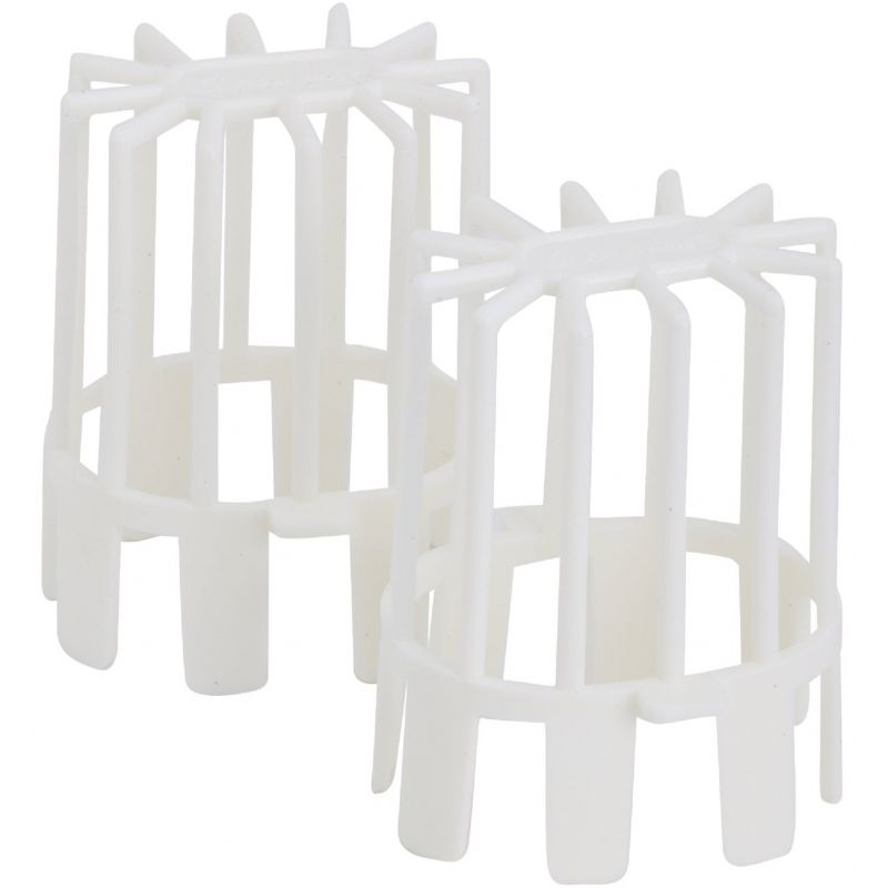 Frost King Plastic Downspout Guard 3 In. Oval Or 3 X 1-7/8 In. Rectangular