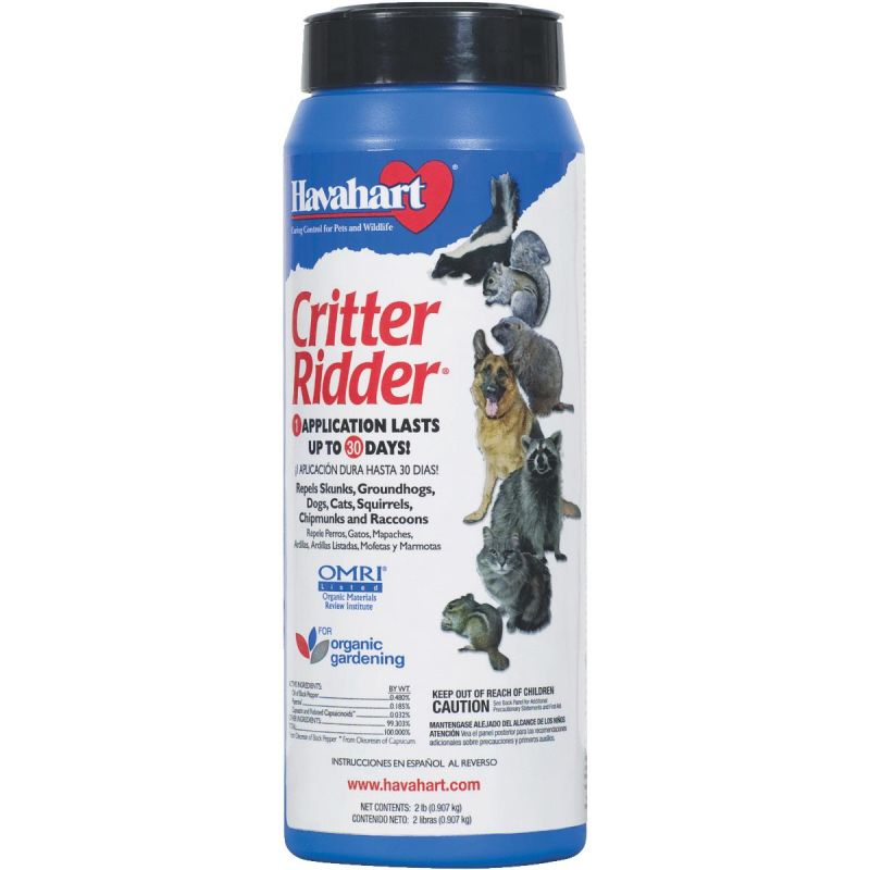 Buy Havahart Critter Ridder Organic Animal Repellent 2 Lb