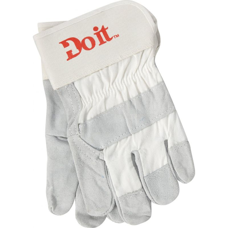 Do it Leather Work Glove L, Gray