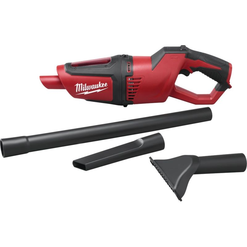 Milwaukee M12 Cordless Handheld Vacuum Cleaner - Bare Tool Red