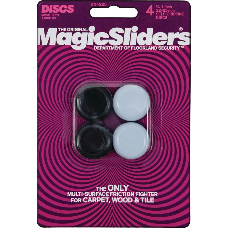 Magic Sliders Self-Gripping Glide Assorted, Gray
