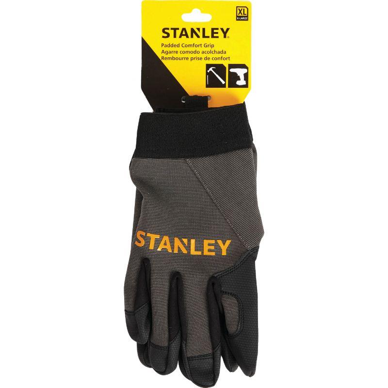 Stanley Padded Comfort Grip High Performance Glove XL, Black