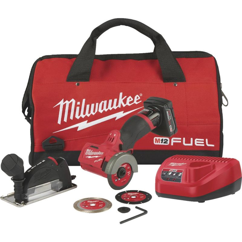Milwaukee M12 FUEL Lithium-Ion Brushless Cordless Cut-Off Tool Kit