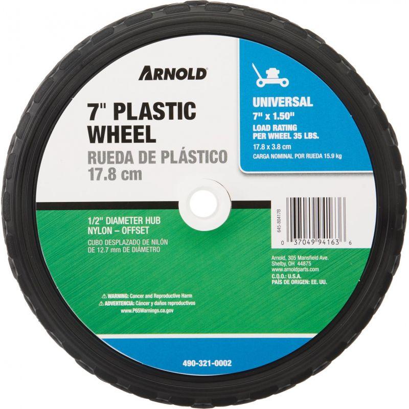 Arnold Diamond Tread Offset Hub Wheel