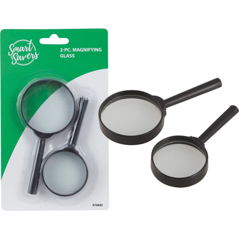 Smart Savers Magnifying Glass 50 Mm/60 Mm Dia (Pack of 12)