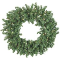 Sterling Aspen Spruce Prelit Wreath