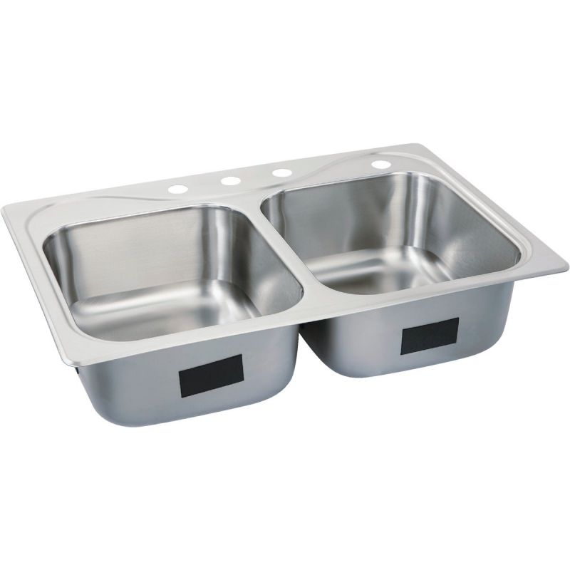 Buy Sterling Southhaven Double Bowl Sink 8 In Deep Stainless Steel 33 In X 22 In X 8 In Deep