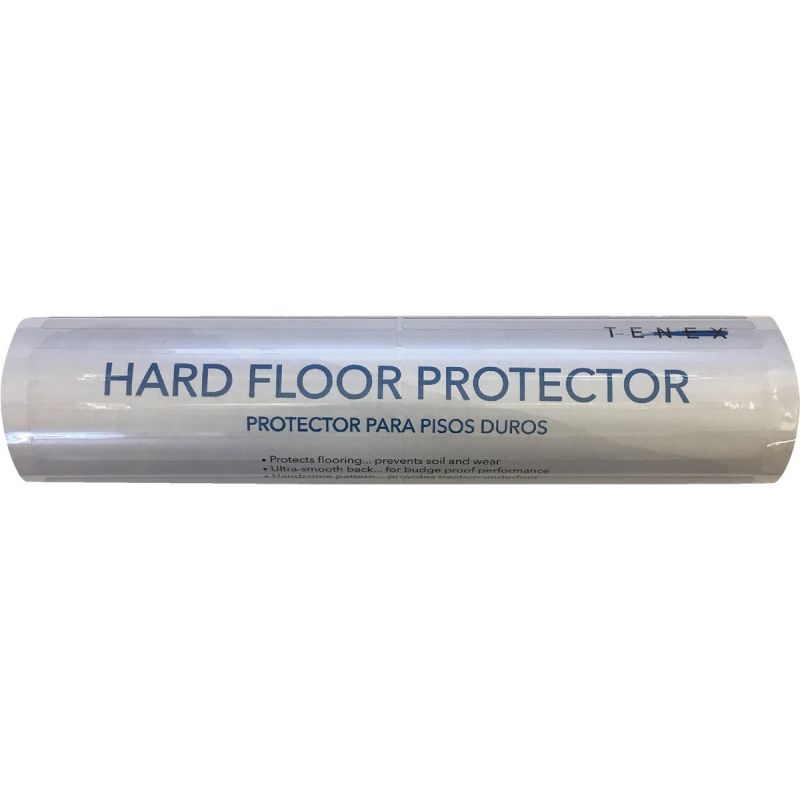 Tenex Floor-All Hard Floor/Carpet Protector Clear, Dual Pad
