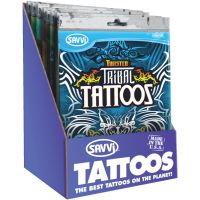 Themed Temporary Tattoos (Pack of 24)