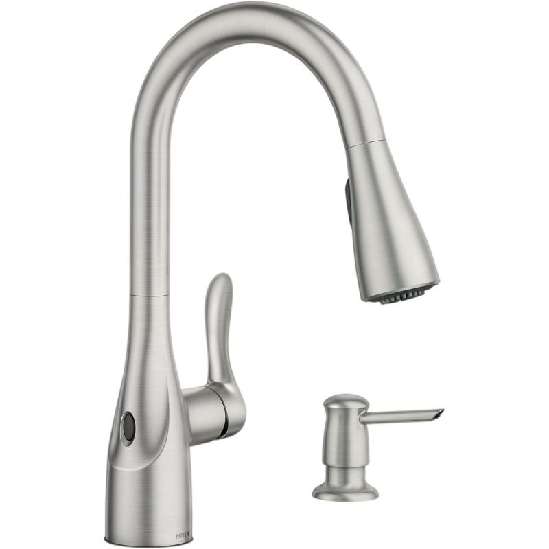 Buy Moen Arlo Pulldown Kitchen Faucet With Motionsense
