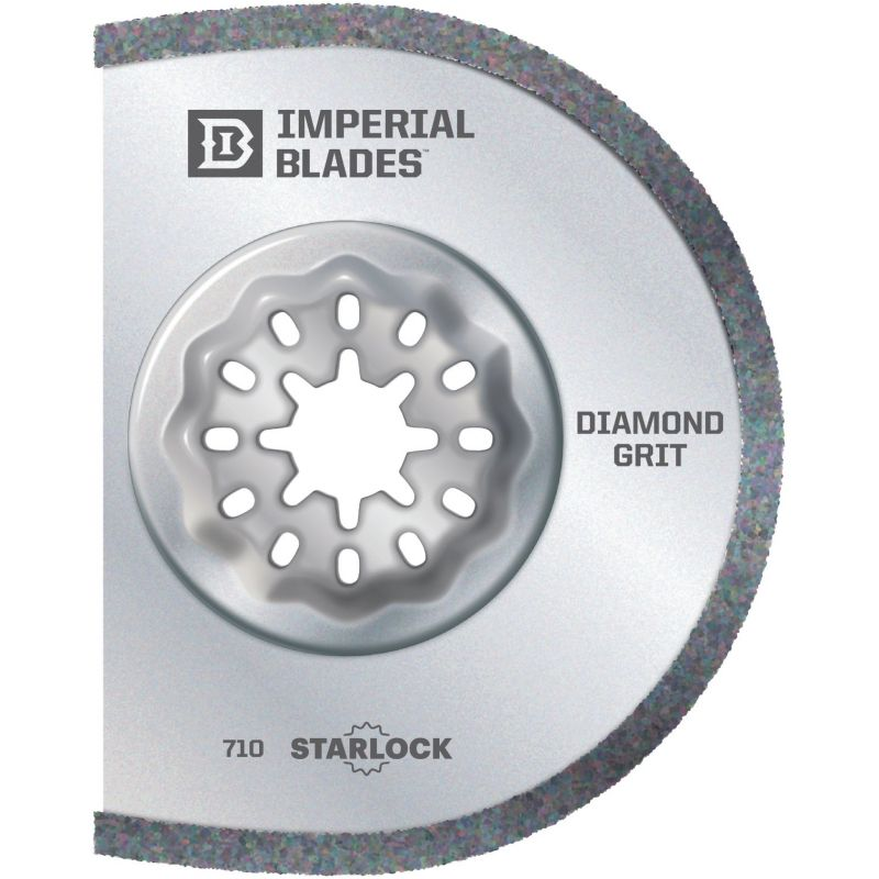Imperial Blades Starlock Segmented Diamond Grit Oscillating Blade