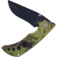 Frost Camo Tactical Folding Knife