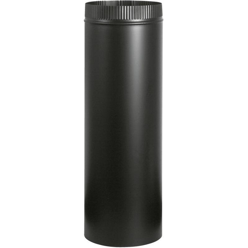 """Imperial Black Stove Pipe 5"""" X 24"""", Black"""