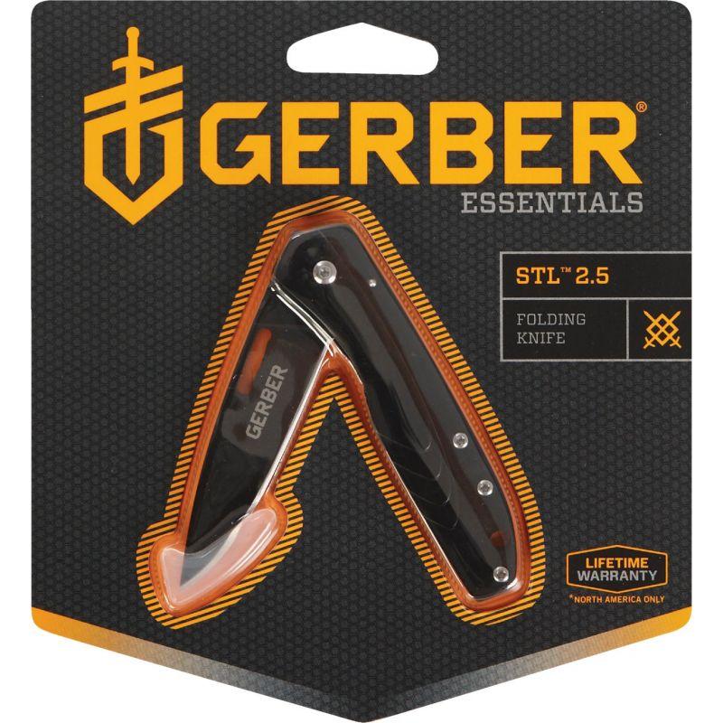Gerber STL 2.5 Folding Knife Black, 2-1/2 In.