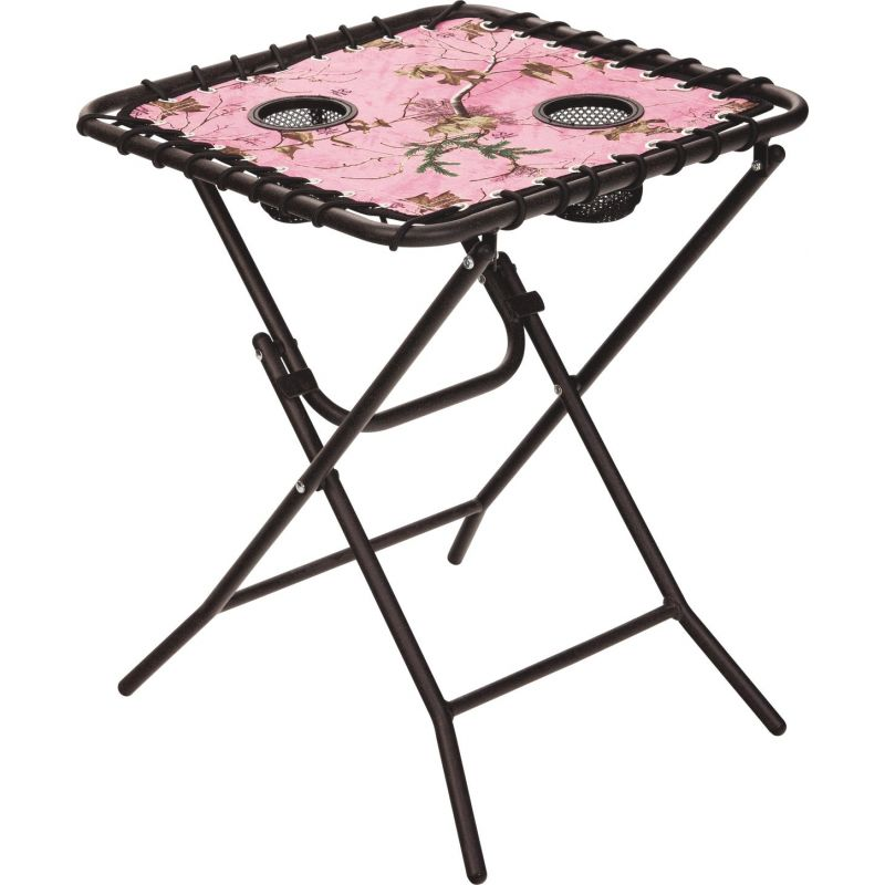 Outdoor Expressions Folding Square Side Table