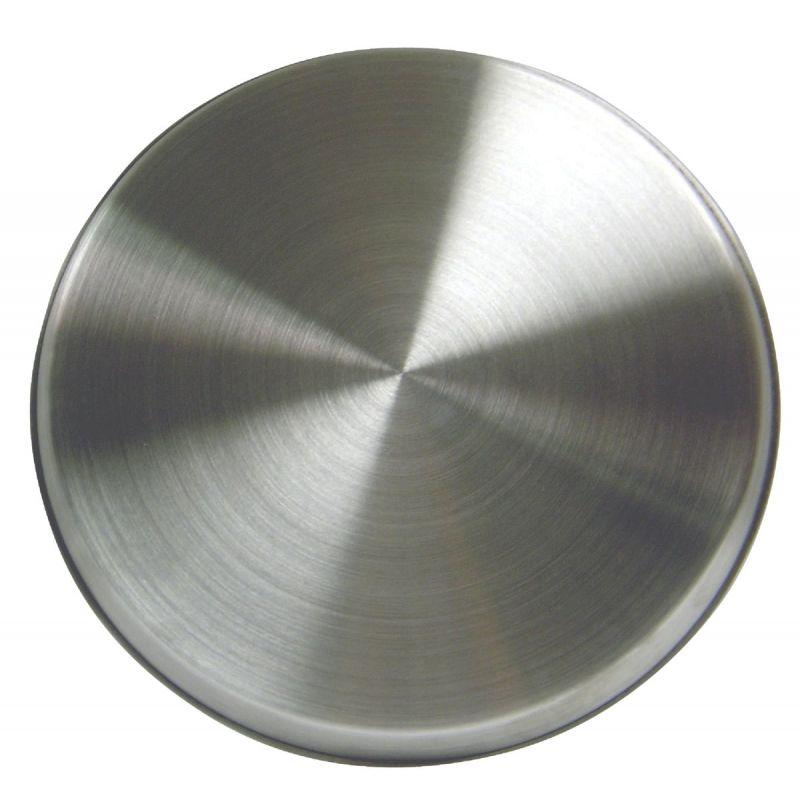 Range Kleen Round Stainless Steel Burner Kover Silver