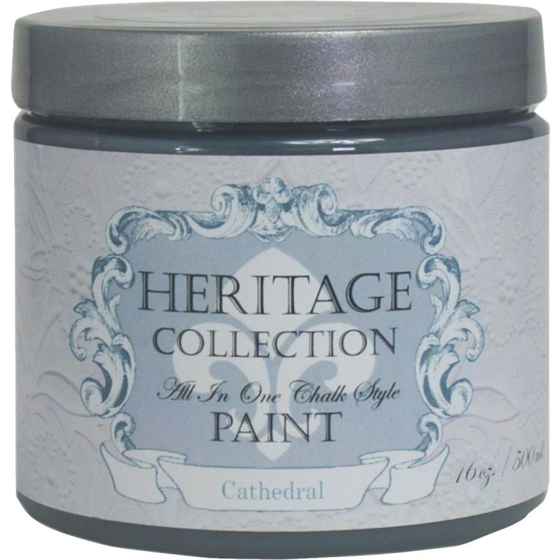 All-In-One Chalk Style Paint Cathedral - Charcoal Gray Pint