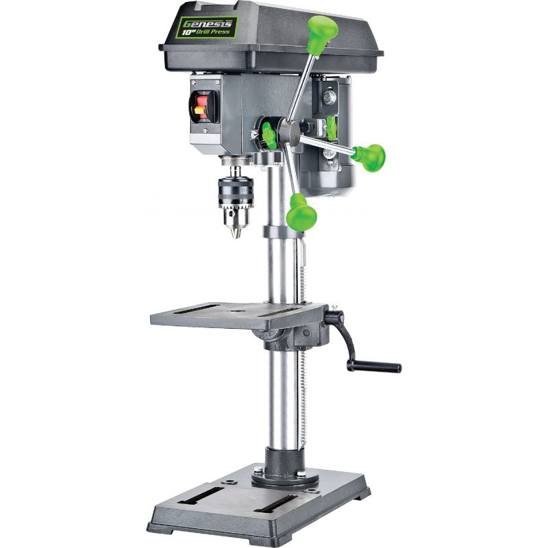 Genesis Bench Top Drill Press 10 In., 4.1A