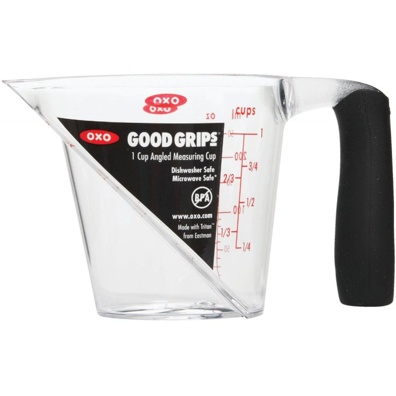 OXO Good Grips Angled Measuring Cup 1 Cup, Clear