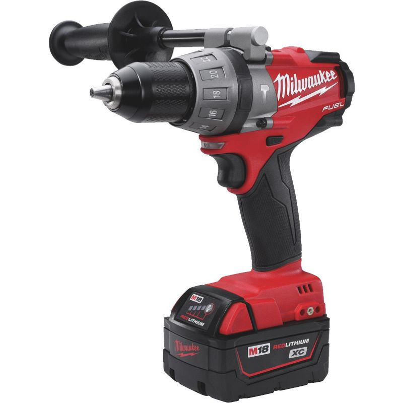 Milwaukee M18 FUEL XC Lithium-Ion Brushless Cordless Hammer Drill Kit