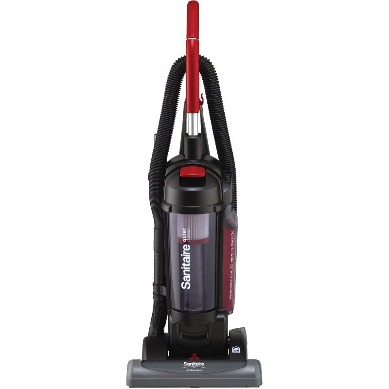 Sanitaire By Electrolux 15 In. Commercial Upright Vacuum Cleaner Black