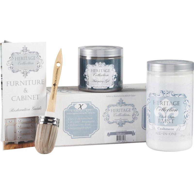 Chalk Paint Cabinet Restoration Kit Cashmere - White