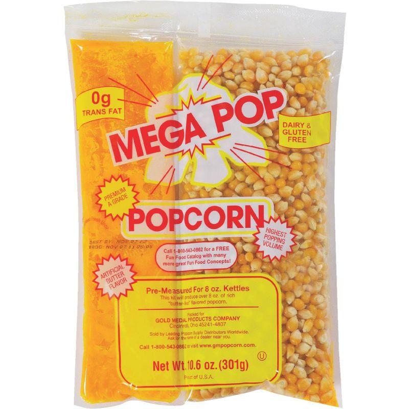Gold Medal Mega Pop Popcorn Kit 24 Kits 24pk