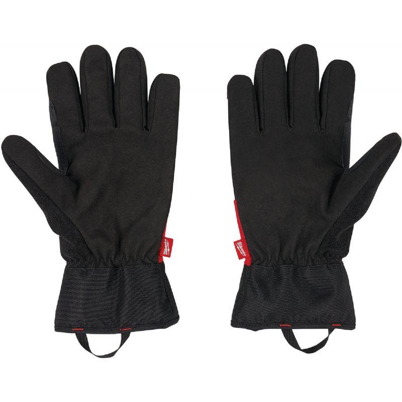 Milwaukee Winter Performance Gloves XL, Black/Red