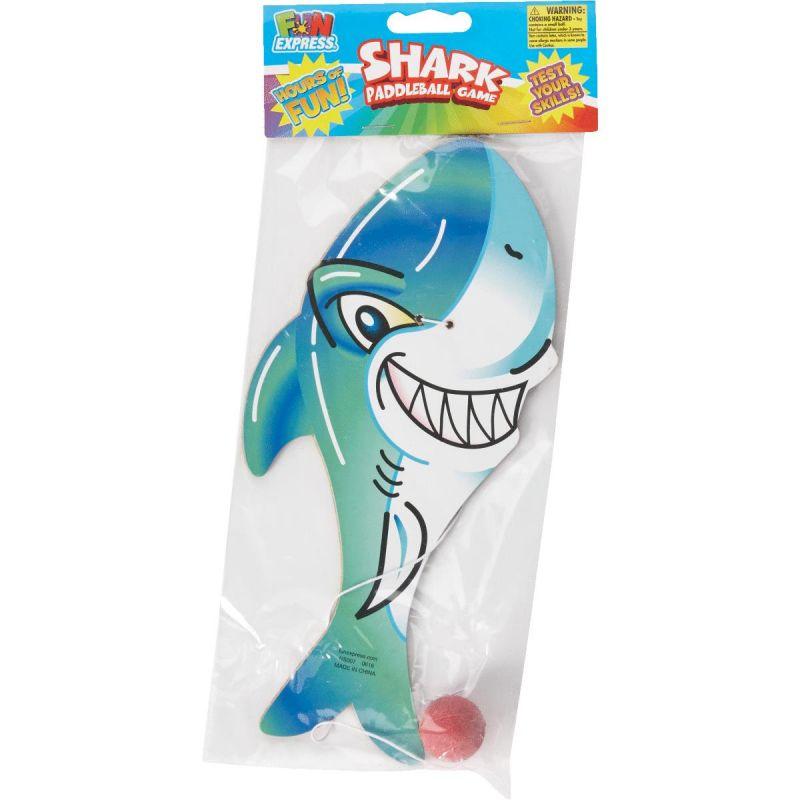Fun Express Shark Paddleball Game (Pack of 12)