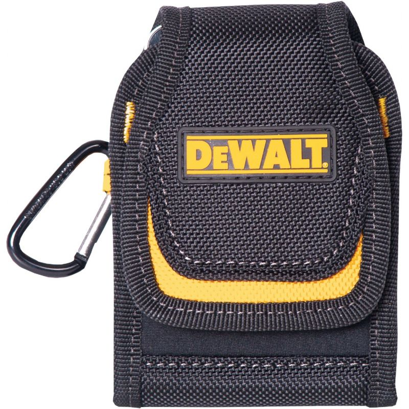 DeWalt Smartphone Cell Phone Case 3 In. W. X 5 In. H. X 3/4 In. D., Black/Yellow