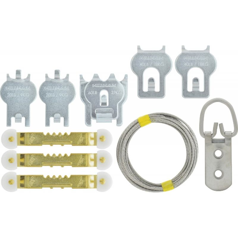 Hillman High and Mighty Picture Hanger Kit 20 To 60 Lb.