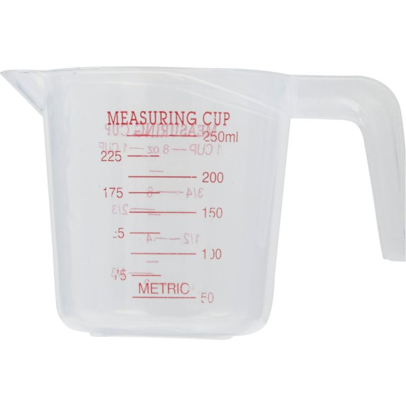 Smart Savers Measuring Cup 1 Cup, White (Pack of 12)