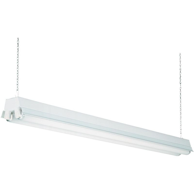 12 X 48 Led Light Fixture: Buy Lithonia T12 Fluorescent Shop Light Fixture 5-1/2 In